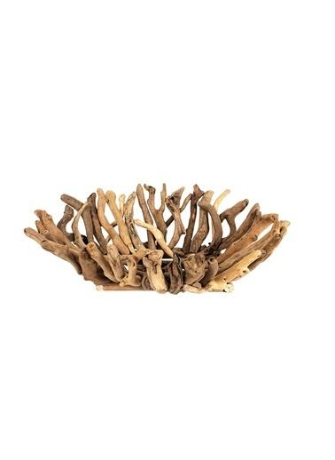 Warm Design Dekoratif Driftwood Kase Renkli